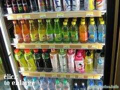 Grocery prices on Phuket (Thailand), non-alcoholic drinks
