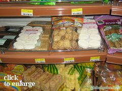 Grocery prices on Phuket (Thailand)), Sweets and desserts in grocery stores