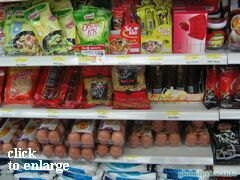 Grocery prices on Phuket (Thailand), The cost of pasta and eggs