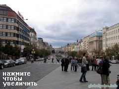 Holiday in Prague, Vaclav street
