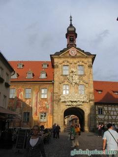 Фотографии Германии и Баварских городков, Баварский городок Бамберг