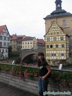 Фотографии Германии и Баварских городков, БСтаринный Баварский город Бамберг