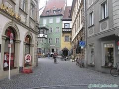 Очень чистый и красивый городок Бамберг, Улицы Бамберга