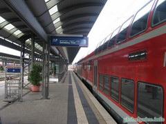 Фотографии Германии и Баварских городков, Поезда в Германии очень комфортные