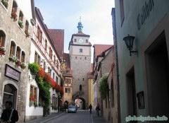 Еще один старинный город Роттенбург, Улицы Роттернбурга