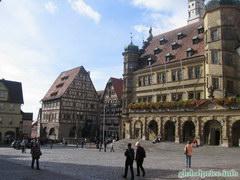 Фотографии Германии и Баварских городков, Городская площать Роттенбурга