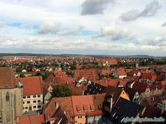Фотографии Германии и Баварских городков, Роттенбург вид с колокольни