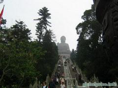 знаменитый биг будда в Гоконге