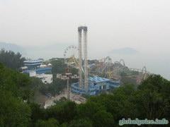 Отдых и развлечения в Гонконге, Аттракционы Оушен парка