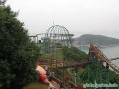 Американские горки в Ocean Park (Гонконг)