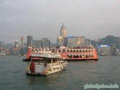 Туристический паром по заливу Виктория (Гонконг)