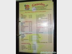 Цены на Бали на еду в ресторанах, алкогольные и безалкогольные напитки