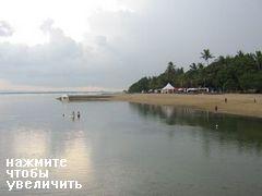 Пляж Санур на Бали, Пляж Санур Бали