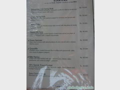 Bali cafes and restaurants prices, prices in a cafe in Bali