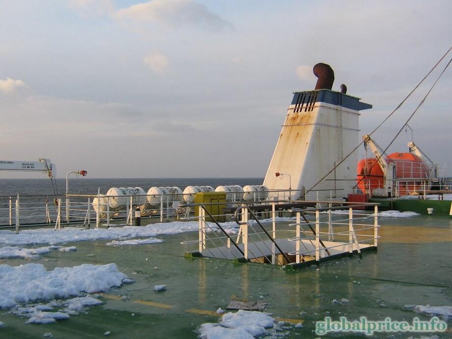 Владивосток южная корея паром цена