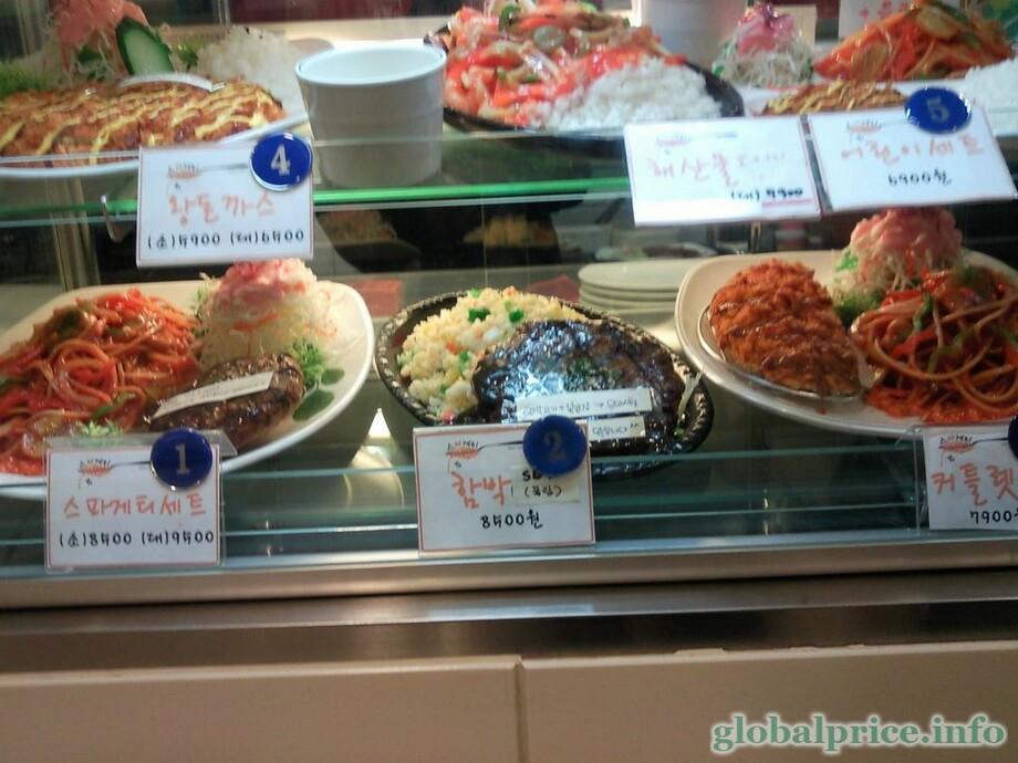 продукты для корейских салатов
