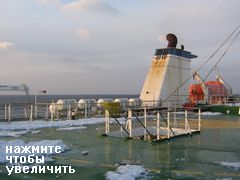 Паром Владивосток - Корея - Япония DBS Ferry, Верхняя палуба