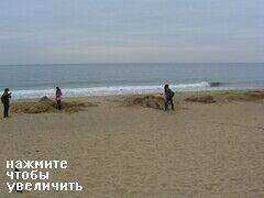 Городской пляж Haeundae Beach в Пусане