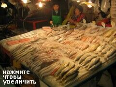 Рыба на рынке в Пусане
