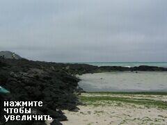 Остров Чеджу, Южная Корея, Остров вулканический, поэтому много вот такого, песок привозной
