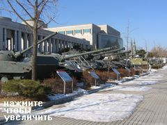 военный музей, Сеул, Южная Корея, парад танков