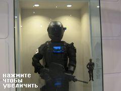 военный музей, Сеул, Южная Корея, солдат будущего