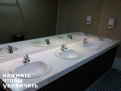 туалет в пароме dBS Ferry