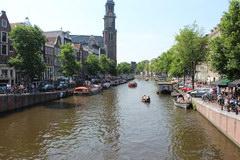 Что поспотреть в Амстрердаме и Голандии, Каналы Амстердама