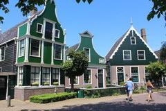 Что поспотреть в Амстрердаме и Голандии, Голландсие домики в Заансе Сханс