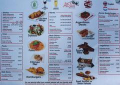 Цены на еду в Амстердаме в Нидерландах, Цены в туристическим ресторанчике в центре Амстердама