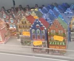 Сувениры в Амстердаме, Сувериные домики