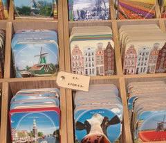 Сувениры в Амстердаме, Подставки по кружки