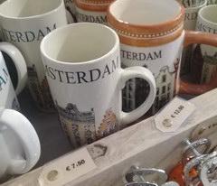 Сувениры в Амстердаме, Кружка