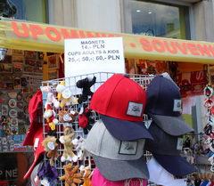 Цены на сувениры в Польше, Кепки