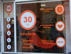 Цены на услуги в Польше, Мужская стрижка