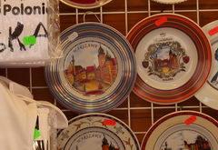 Цены на сувениры в Польше, Сувенирные тарелки