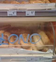 Cost of a meal in Warsaw in a shop, Baking