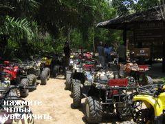 Гонки на квадроциклах в Таиланде