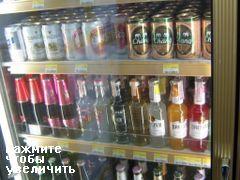 Цены на продукты на Пхукеке, слабоалкогольные напитки на Пхукете
