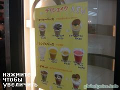 Prices for food in Japan