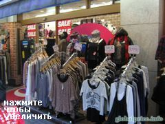 Shopping in Japan, Tokyo, Prices for clothing