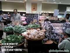 Стоимость продуктов в Японии, Цены на овощи на рынке Осаки, Япония