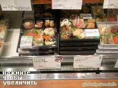 Fast food prices, Bento prices