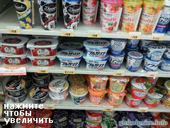 Cost of food in Tokoy, yogurt at a supermarket