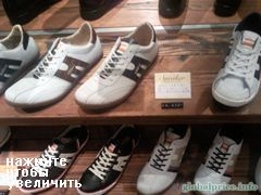 prices of clothes in Japan, Tokyo, Mens sneakers