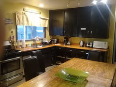 Budget accommodation in the USA, Shared kitchen at the hostel