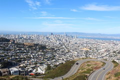 San Francisco, Viewpoint Twin Peaks