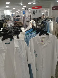 US prices for clothes, Summer linen shirts