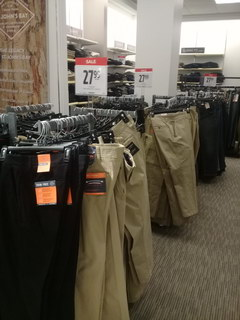 Prices in the USA for clothes, Men's trousers