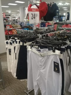 US prices for clothes, Shorts